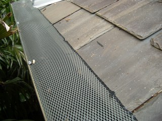 Gutter guard in Mitchellville