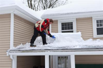 Roof shoveling in Glenwood MD