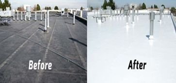Silicone Roof Coating for Flat Roofs COOL  Roofing in Columbia, MD (4)