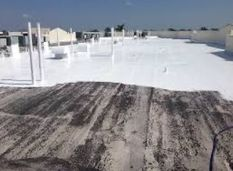 Silicone Roof Coating for Flat Roofs COOL  Roofing in Columbia, MD (3)