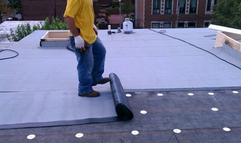 Flat Roof in Columbia, MD