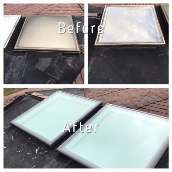 Before & After Replacement Skylights in Laurel, MD (1)