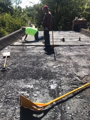 Before & After New Flat Roof in Baltimore, MD (2)