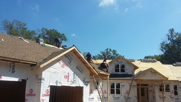 New Construction Roof Installation in Pasadena, MD (1)