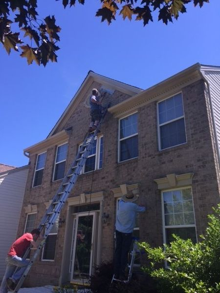 The Team at Kelbie Working on Trim in Elkridge, MD (1)