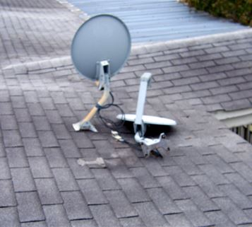 Satellite Dish Removal